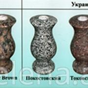 Надгробные комплексы из цветного гранита (финский, российский, украинский) фото