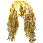 Парик из дождика, золотой, (Феникс Презент) фото