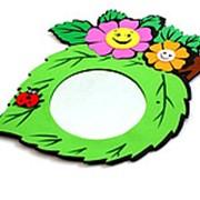 Зеркало настенное детское Цветы фото