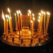 Свечи церковные фото
