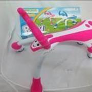 Автотранспортная игрушка Каталка-талокар 2 цв., кор. фото