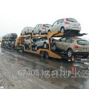 Доставка авто автовозом по территории России фото