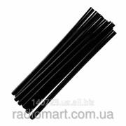 Черный клеевой стержень Тайвань 1кг, диаметр 11 мм, длина 195 мм фото
