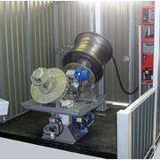 Двухпозиционная установка АС339 для сварки кольцевых швов (автомобильных колес). фото