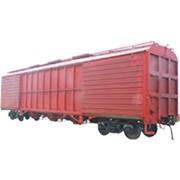 Комбинированный вагон для перевозки глинозема и алюминия фото