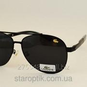 Мужские солнцезащитные очки Lacoste 8023 цвет черный фото
