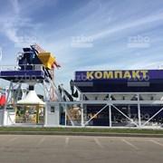 Бетонный завод Компакт-90 фото