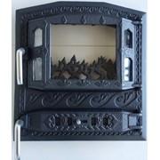 Дверца для печи или камина Royal MODERN Black ( nr.58 ) фото