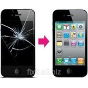 Замена дисплея (стекла, тачскрина) на iPhone 4 фото