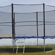 Батут FunFit 465 см с сеткой и лесенкой фото