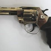 Револьвер ALFA 440, никелированный, пластиковая рукоятка фото