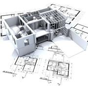 Проекты жилых строений, общественных зданий, промышленных предприятий. фото
