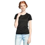 Женская спортивная футболка StanPrintWomen 30W Чёрный XS/42 фото
