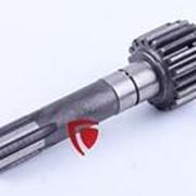 Вал первичный дополнительной КПП Z-6/19 L-165mm (10T.37.110-2) фото