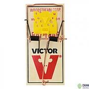 Механическая деревянная крысоловка VICTOR M205R 5 штук фото