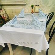Скатерти для ресторанов Алматы фото