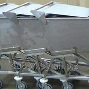 Тележка для транспортировки мясной, рыбной и другой продукции фото