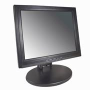 Монитор LCD 15, сенсорный (RS232), черный фото