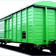 Железнодорожные составы: вагоны, полувагоны, хопперы фото