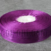Лента органза темно-фиолетовая 2 см 50ярд арт 34 4756 фото