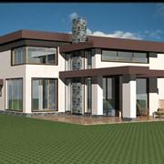 Дизайн зданий, дизайн фасадов, экстерьер здания. фото