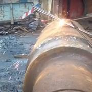 Демонтаж металлоконструкций в резка плазмой фото