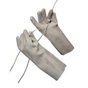 Перчатки диэлектрические штанцованные со швом фото