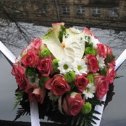 Изготовление украшений для свадебных автомобилей Киев фото