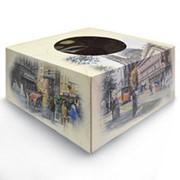 Коробка для торта 2 кг с окном фото