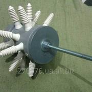 Мини-перощепалка для перепелов (насадка на дрель) фото