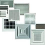 Решетки вентиляционные алюминиевые фото