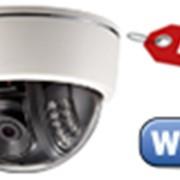 Купольная IP видеокамера WiFi с ИК подсветкой TESLA IP-320W фото