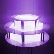 Стол с подсветкой под шоколадный фонтан. фото