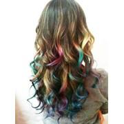 Пастель для волос. фото