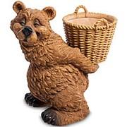 Скульптура-кашпо Счастливый Миша/Медведь 29х31х20,5см. арт.GG-4487-LG Sealmark фото