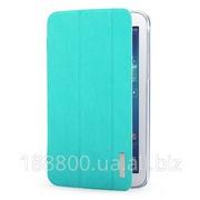 Чехол книжка подставка Rock Elegant Series для Samsung Galaxy Tab 3 7.0 T2100/T2110 Бирюзовый / Azure фото