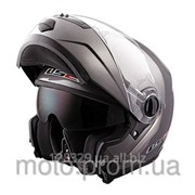 Шлем модуляр LS2 FF386 Ride титан матовый фото