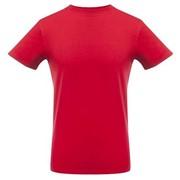 Футболка мужская T-bolka Stretch, темно-красная, размер XXL фото