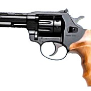 Револьвер ALFA 440, черный, деревянная рукоятка фото
