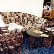 Коллекции ротанговой плетеной мебели. Гостиная из ротанга. фото
