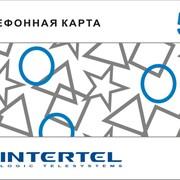 Услуги IP-телефонии, телефонные карты Intertel. фото