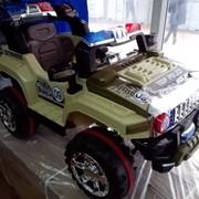 Электромобиль jeep police фото