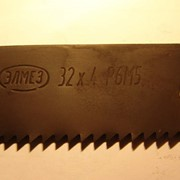 Полотно ножовочное машинное 400х32х2.0Р6М5 фото