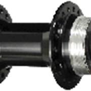 Втулка на велосипед алюминевая задняя 36отверстий для трещетки с эксцентриком 135мм черная фото