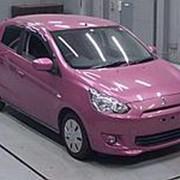 Хэтчбек MITSUBISHI MIRAGE гв 2012 пробег 88 т.км цвет пурпурный фото