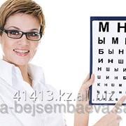 Консультация врача окулиста (офтальмолога) фото