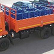Бортовой Камаз 43118-46Е4 под перевозку кислородных баллонов (ДОПОГ) фото