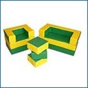 Комплект мягкой игровой мебели «Филя» трансформер фото