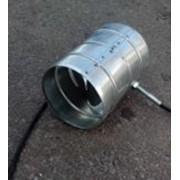 Воздушная заслонка (регулятор) приточного воздуха диам. 100мм фото