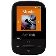 Фоторамка цифровая SanDisk SDMX24-004G-G46K, МР3 Sansa Clip Sports 4GB Black (черная) фото